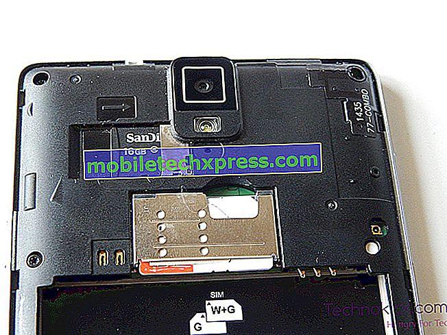 Einfache Schritte zum Einsetzen oder Entfernen einer SIM-Karte für Galaxy Note9