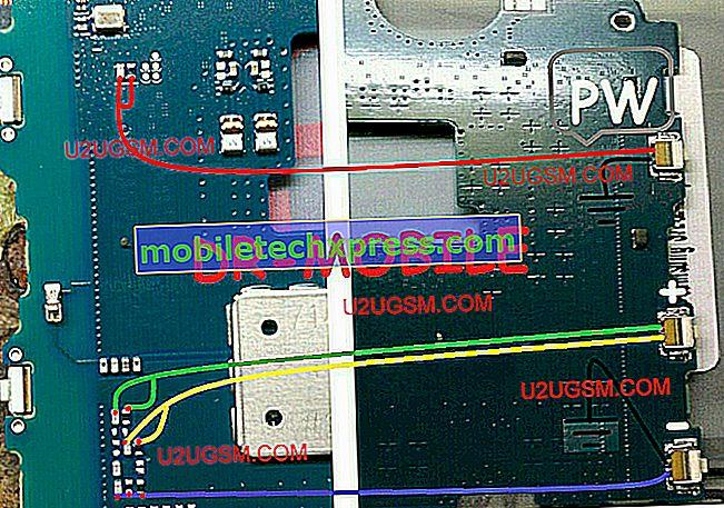 Le Samsung Galaxy S8 résolu ne s'allume que lorsqu'il est branché au chargeur