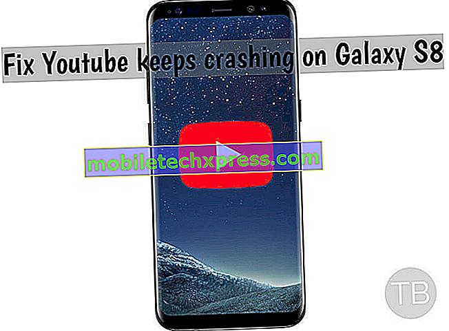 """Slik løser du Galaxy S8 YouTube-feil: """"Det er et problem med nettverket ditt [410]"""""""