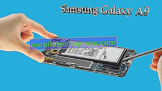 Kje najdete prenesene slike na Galaxy A9