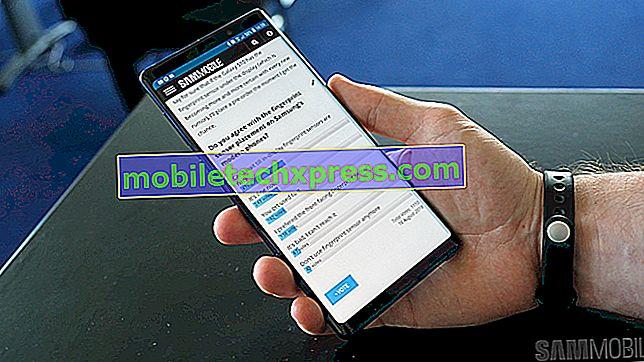 Fotografije, ki jih je posnela kamera Galaxy Note 4, so modre barve, druga vprašanja