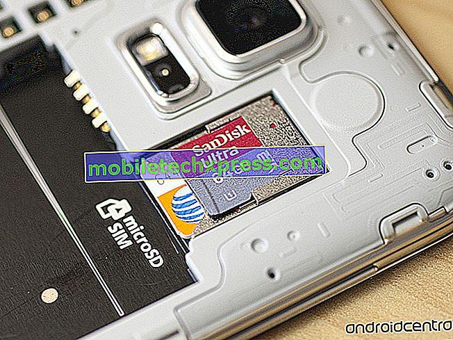 Top 4 Samsung Galaxy Note 2 microSD Kart Yüzünüzü Etkileyebilir