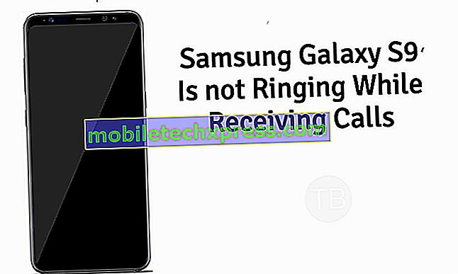 Slik løser du Samsung Galaxy S9 + Anrop kan ikke bli hørt