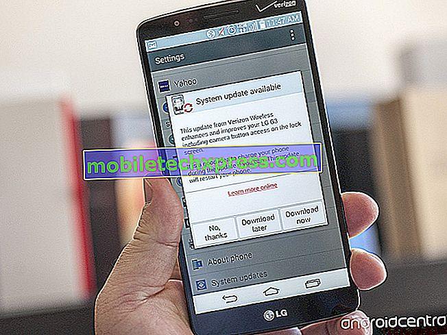 Verizon LG G3 agora recebendo a atualização do Android 5.0