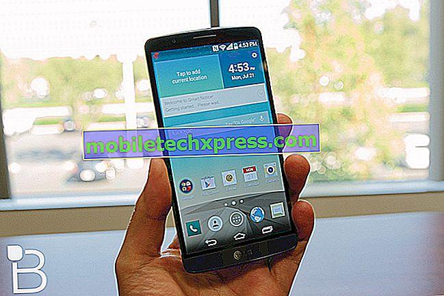 Verizon LG G3 naj bi prejel posodobitev Android 5.0.1