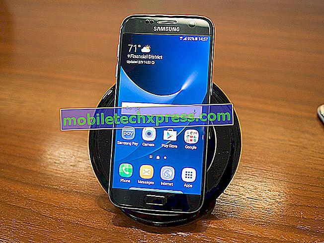 Đã giải quyết Samsung Galaxy S8 khi sạc