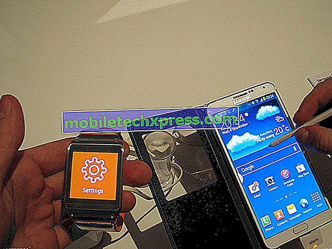 Samsung Galaxy Opomba 4 ne more klicati in drugih sorodnih vprašanj