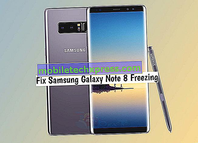 Samsung Galaxy Note 4 tilfældigt fryser problem og andre relaterede problemer