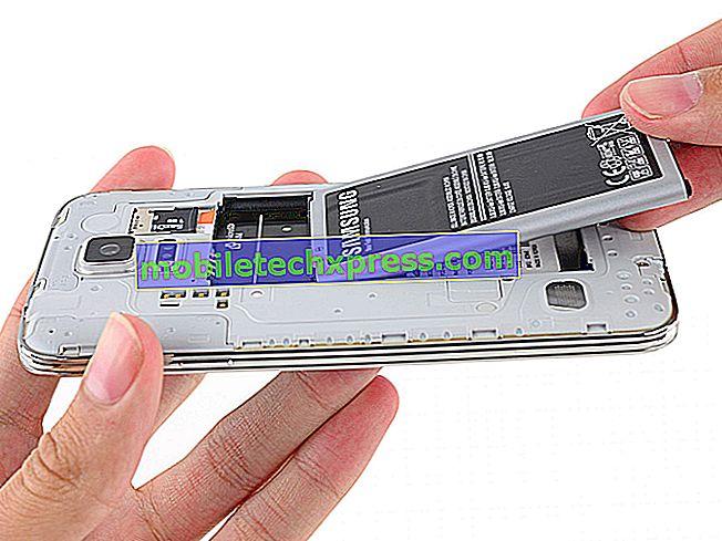 Solução de problemas de carregamento e drenagem de bateria do Samsung Galaxy S5