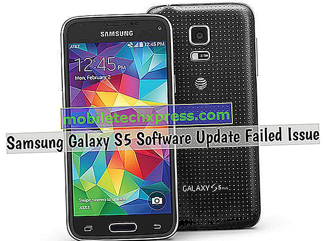 Samsung Galaxy S5-softwareopdatering mislykkedes problem og andre relaterede problemer