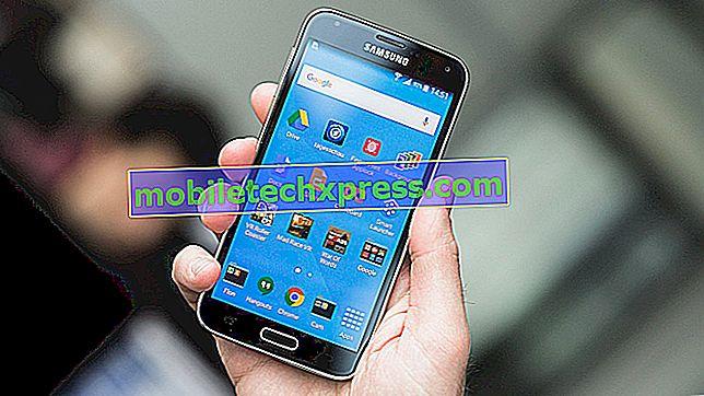 "Kako popraviti Samsung Galaxy S5 ""Na žalost, telefon je ustavil"" napake"