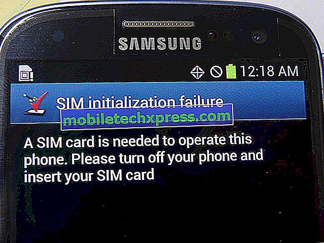 Fehler beim Einsetzen der SIM-Karte in Samsung Galaxy S4