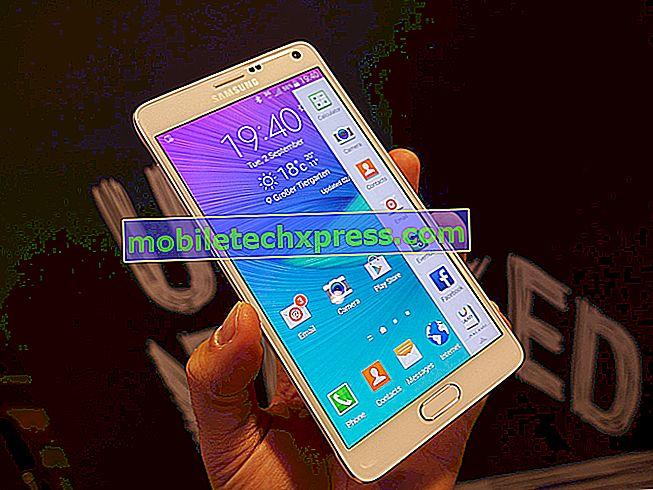 """Galaxy Note 4 """"Kontakter liste er opdateret"""" fejl, andre app problemer"""