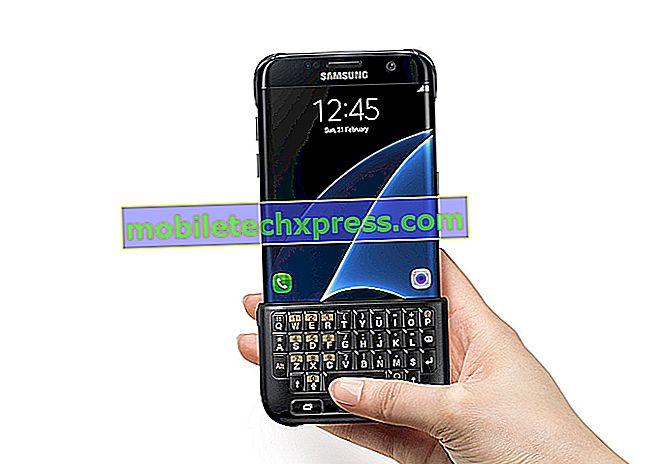 Samsung Galaxy S7 Edge-skærmen startede flimrende og andre skærmrelaterede problemer