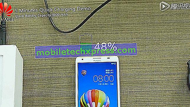 Huawei'nin yeni teknolojisi, sadece beş dakikada 3.000 mAh bataryayı yaklaşık% 50 oranında şarj ediyor
