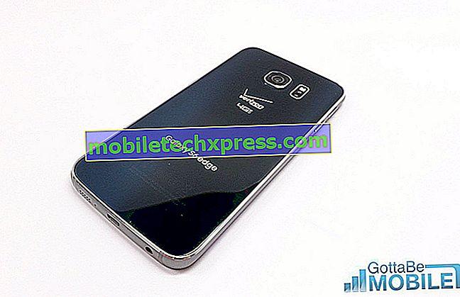 Samsung Galaxy S6 Edge neaktualizuje poslední vydání softwaru a další související problémy
