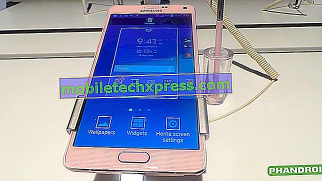 Verizon Galaxy Note 4 ne deluje na T-Mobile omrežju, druga vprašanja
