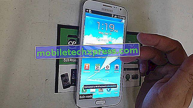 Jak Fix Galaxy Poznámka 2 Stuck v nouzovém režimu