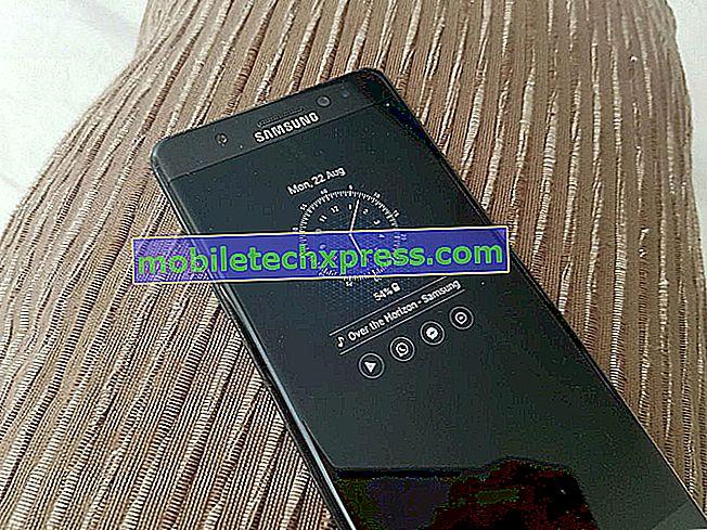 Samsung Galaxy Note 4 zamrzne občasno težave in druge sorodne težave