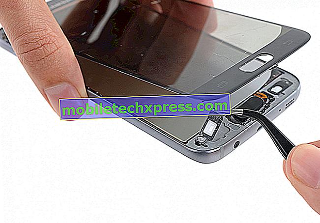 Sådan repareres almindelige Samsung Galaxy S7 skærm og display problemer