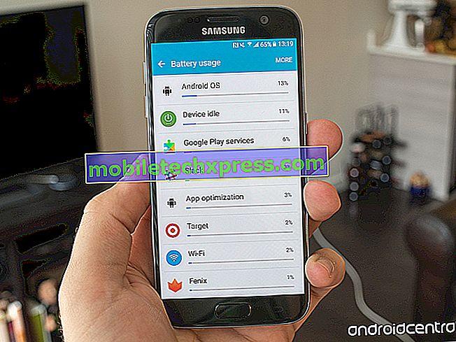 Sådan fejlfindes almindelige skærmproblemer med Samsung Galaxy S7 Edge & fix relaterede problemer