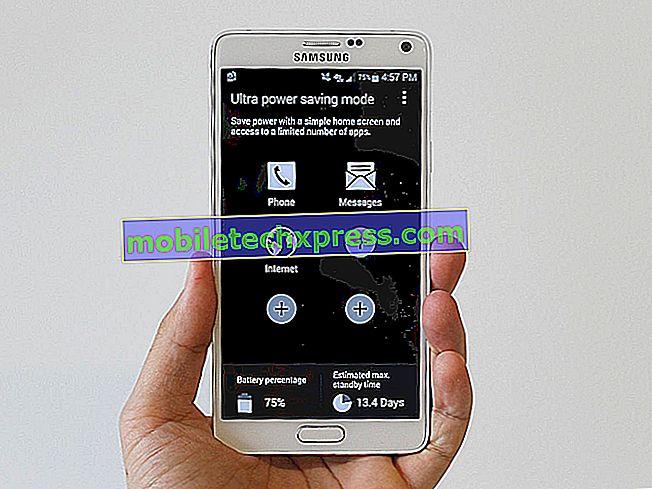 Vad gör du om Galaxy S9 inte laddas, laddar bara när du är i Ultra Power Saving Mode
