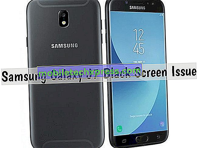Damla sonra Samsung Galaxy J7 Siyah Ekran Nasıl Onarılır