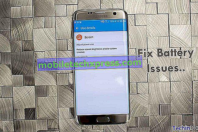 Решен Samsung Galaxy Забележка 8 Бързо изтощаване на батерията след актуализация на софтуера