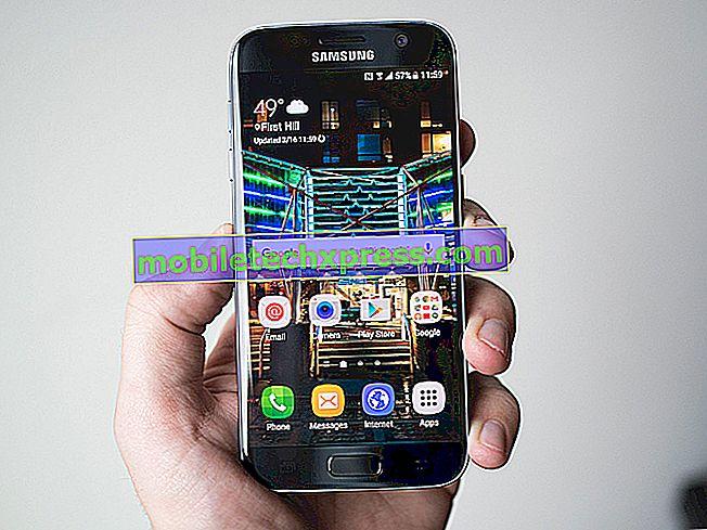 Samsung Galaxy S9 genstarter, når du åbner en app.  Her skal du gøre ...