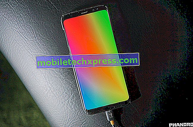 So beheben Sie das Einbrennen oder Verfärben des Bildschirms auf dem Samsung Galaxy S8
