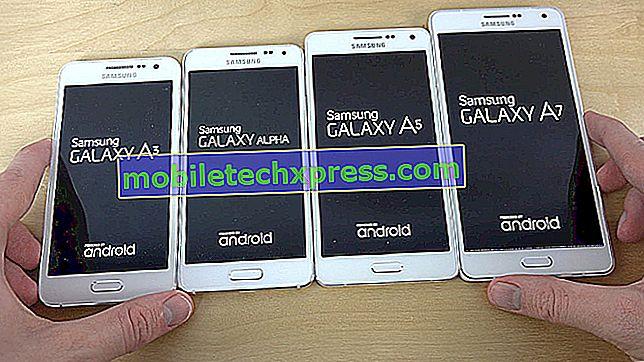 Så här åtgärdar du problem med Galaxy A7-textning: kan inte skicka SMS