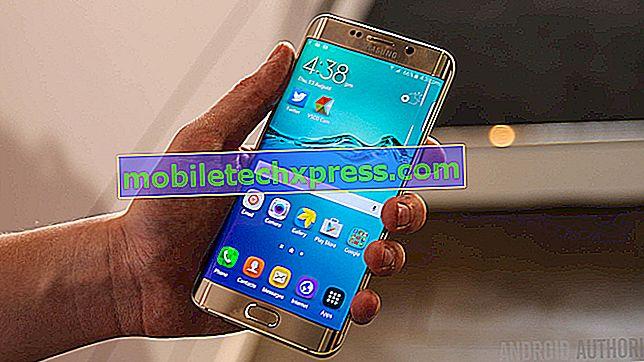 Rychlé opravy běžných problémů firmwaru Samsung Galaxy S6 Edge Plus