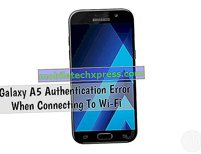 Samsung Galaxy A5 prikazuje napako »Na žalost, Facebook se je ustavil« napaka [Troubleshooting Guide]
