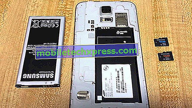 Отстраняване на неизправности на Samsung Galaxy S5 с четене на microSD карти
