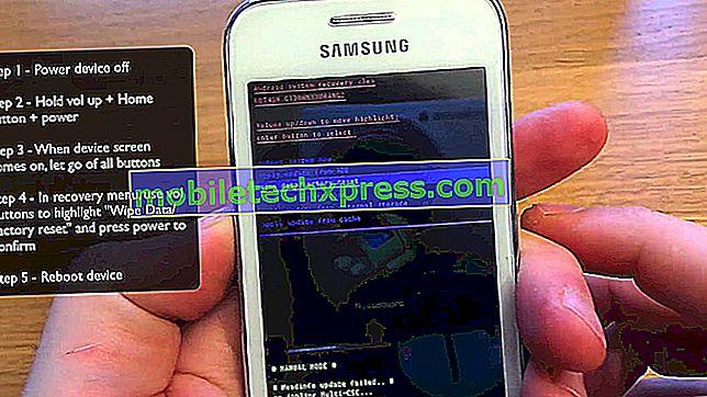 Kako trdo ponastaviti na Samsung Galaxy A9