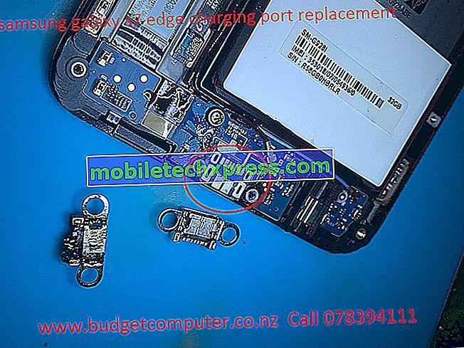 Løst Samsung Galaxy S7 Edge ikke helt opladning