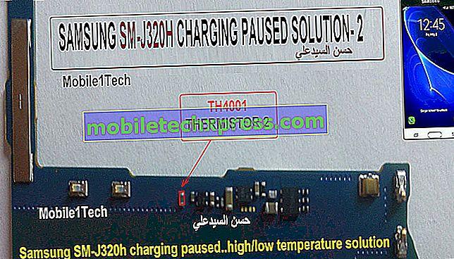 Rešitev Samsung Galaxy A5 Nepooblaščeno Factory Reset Error