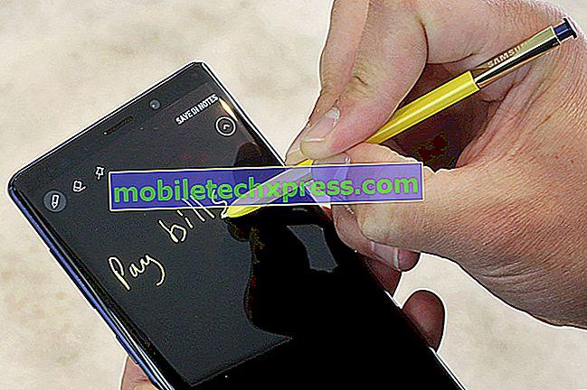 """Sådan repareres meddelelsen """"Synkroniser meddelelser Midlertidig baggrundsbehandling"""" på Galaxy Note9"""