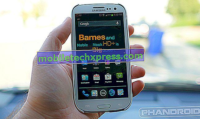 Problém Samsung Galaxy S3 při instalaci nebo aktualizaci aplikací