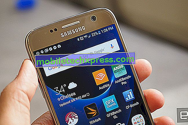 Màn hình Galaxy S7 sẽ không thức dậy sau khi cập nhật khi không sử dụng