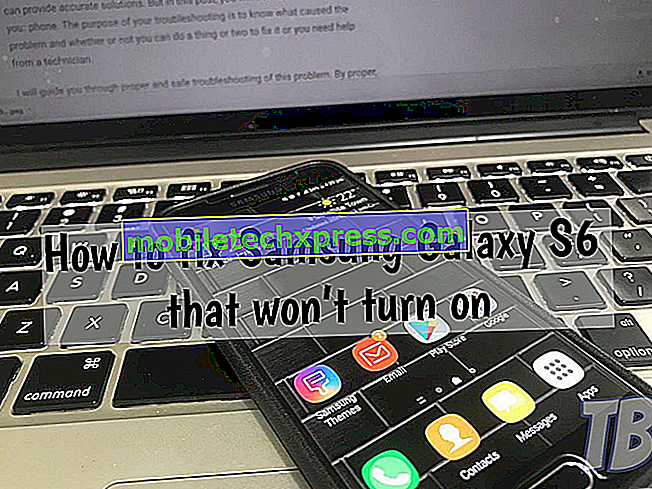 Sådan repareres Samsung Galaxy Tab S4, der ikke tænder?