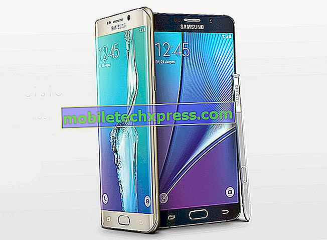 T-Mobile Galaxy Note 5 získává drobnou aktualizaci