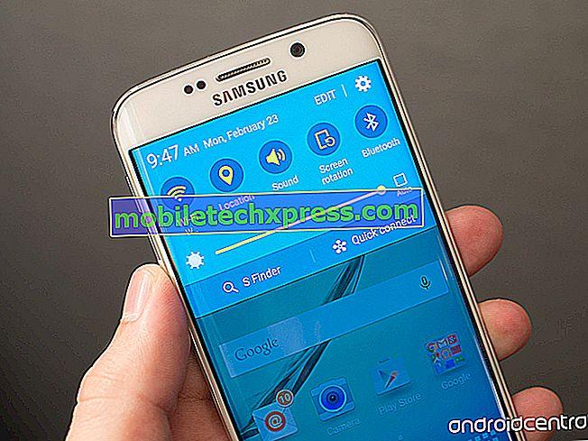 Galaxy S6 ne montrant pas les notifications par SMS, autres problèmes