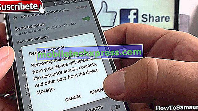 So beheben Sie Samsung Galaxy S6 Edge, das nicht gesendet werden kann, erhalten Sie E-Mails