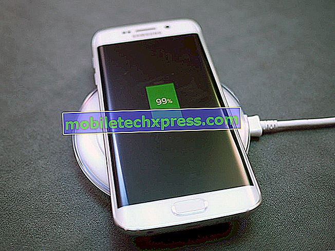 Galaxy S6 je nabíjena pouze při připojení k notebooku, jiné problémy