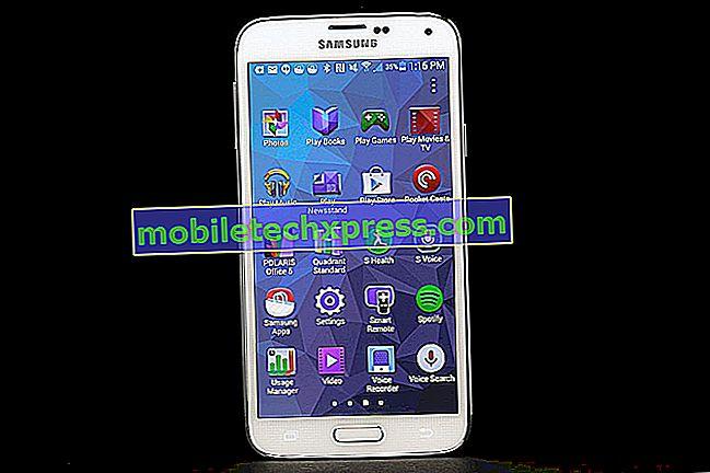 Samsung Galaxy S5-skærm vil ikke tænde problem og andre relaterede problemer