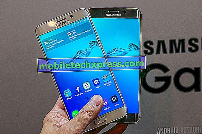 AT & T sender avanceret besked opdatering til Galaxy S6, S6 kant, S6 kant + og Note 5