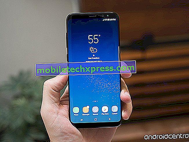 Sådan Fix Samsung Galaxy S9 + Skærm Har Dark Transparent Overlay