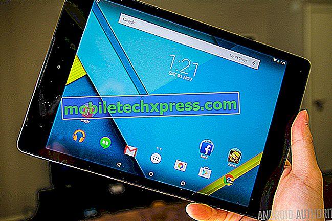 Nexus 9 LTE får nu Android Nougat opdateringen