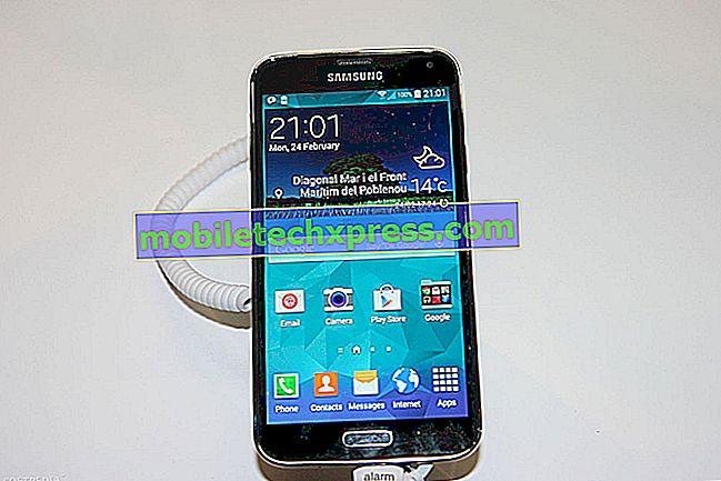Samsung Galaxy S5 Kamera feilet feilproblem og andre relaterte problemer